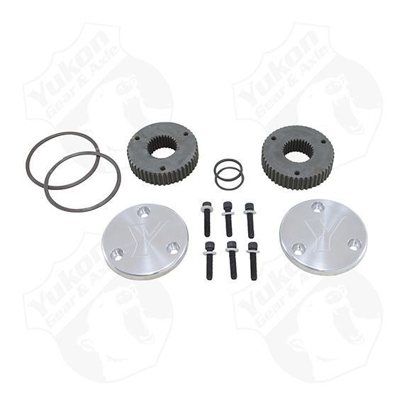 Yukon Hardcore Drive Flange Kit For Dana 44 30 Spline Outer Stubs Yukon Engraved Caps Yukon Gear Axle Agility Customs